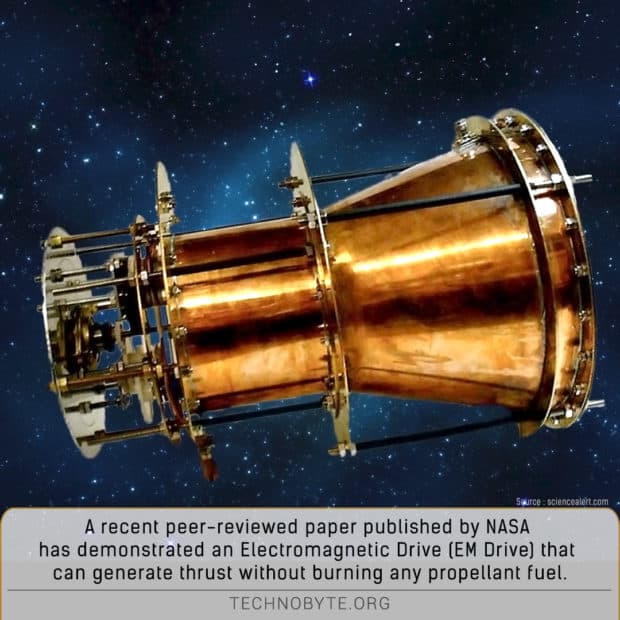 a mind blowing fact is that the EM drive could be possible to make