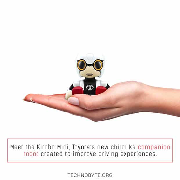 amazing fact about Toyota's robot Kirobo