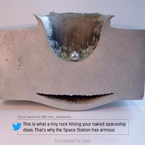 interesting facts about space - How does the International Space Station protect itself from space debris